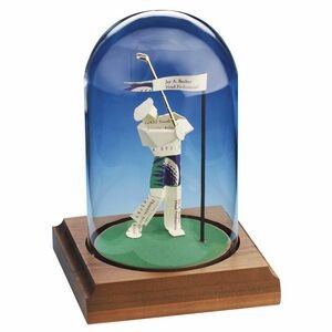 Business Card Sculpture - Closest To The Pin